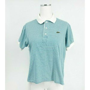 Vintage Lacoste Made in France Womens Chemise Polo